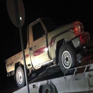 شرطة #الرياض توقع بشخصين قاما بسرقة المركبات ونقلها خارج الرياض