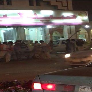 شرطة #الرياض تتدخل لفض مُشاجرة عمالة في شارع السويدي