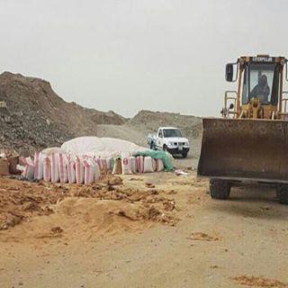 بلدية جنوب #جدة تتمكن من إحباط بيع وتوزيع كميات كبيرة من الأرز الفاسد