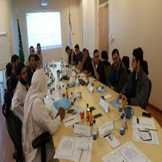 المجلس الطلابي بمدينة سليمان الراجحي التعليمية يعقد اجتماعه السادس عشر