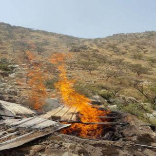مواطني قُرى عبس بمُحافظة #المجاردة افارقة مُخالفين يُهددون بإحراق منازلنا
