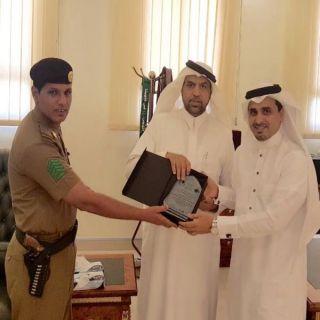 محافظ #قلوة يُكرم الجهات المشاركة في أسبوع المرور الخليجي