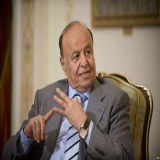 الرئيس اليمني لا يمكن للحوثي فرض التجربة الإيرانية على اليمنيين