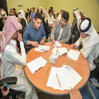 """طلاب #جامعة_الباحة يزورون المعرض """"الدولي للكتاب"""" و""""الطيران"""" بالرياض"""