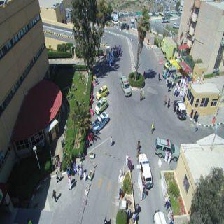 بالصور - والفيديو مدني الباحة ينفذ اكبر فرضيه مشتركه مع جهات عده في المنطقة