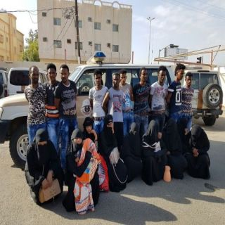 نتائج الحملة الأمنية بشرطة منطقة عسير ليومي الثلاثاء والأربعاء الماضيين