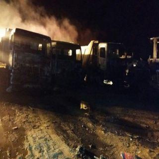 الشرطة تتوصل للأشخاص الذين احرقوا معدات أحدى الشركات بمُحافظة #الخرمة