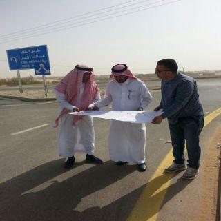 أمين القصيم يتفقد مشروع طريق الملك عبدالله ومشروع وسط #بريدة