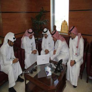 أمين عسير يُطلق موقع بلدية بللحمر على شبكة الإنترنت