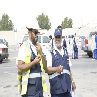 تسرب مواد كيميائية في خطة فرضية بمستشفى الملك فهد بالهفوف
