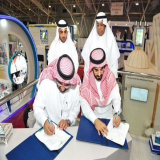جامعة طيبة توقع عقدين مع جامعة الملك عبدالعزيز والمركز الوطني للتقويم