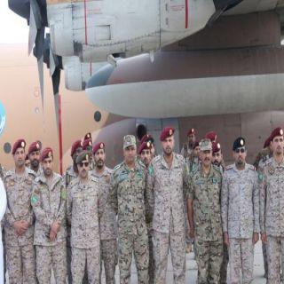 القوة السعودية المشاركة في التمرين الثنائي السعودي الأردني تصل الى عمان اليوم.