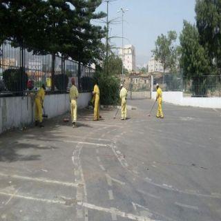 #أمانة_عسير 11 فرق ميدانية تعمل لخدمة #أبها_عاصمة_السياحة_العربية
