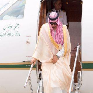الأمير مشاري بن سعود يصل إلى منطقة الباحة