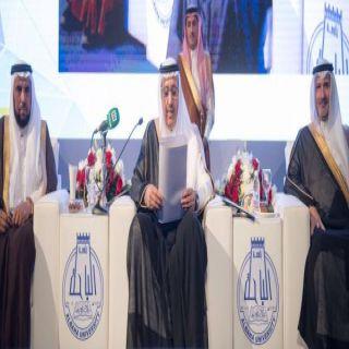 """أمير الباحة في حفل تخريج الدفعة""""11"""" أنتم عماد هذا الوطن وفخره"""