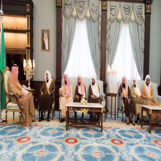 أمير #الباحة يستقبل رئيس محكمة الاستئناف والقضاة بالمنطقة