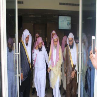 بالصور- الشيخ الدكتور صالح بن فوزان الفوزان يزور هية #الحدود_الشمالية