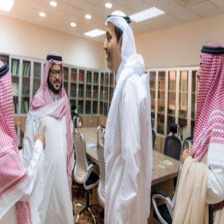أمير #الباحة يطلع على سير العمل في إدارات وأقسام إمارة المنطقة