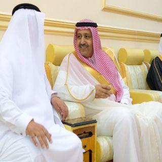 أمير #الباحة يزور شيخ قبيلة بني كبير وشيخ قبيلة بنى عامر