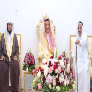 أمير #الباحة يزور شيخ قبيلة بني بشر الشيخ ماجد بن عبدالوهاب