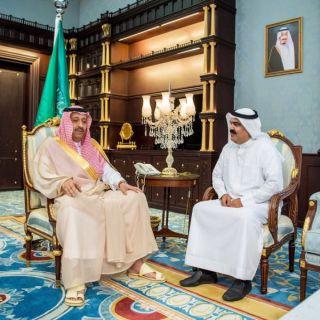 الأمير حُسام يُقدم دعما سخيا لنادي العين ونادي الحجاز بمنطقة الباحة
