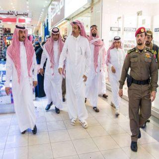 في زيارته مركز الغنيم أمير الباحة يلتقي المواطنين ويستمع لمطالبهم