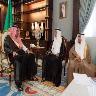 أمير الباحة يستقبل مُدير عام هيئة الرياضة ورؤساء الأندنية الرياضية في المنطقة