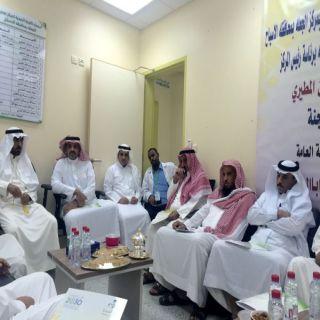 اللجنة الصحية بمركز الجعلة في #الاسياح تعقد اجتماعها الأول