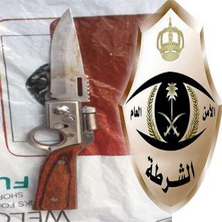 شرطة #مكة توقع بإفريقي مُتهم بقتل آخر بعدة طعنات