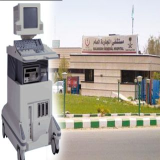 قطاع صحي المجاردة يوفر جهاز الأشعة(سونار) في تنويم النساء