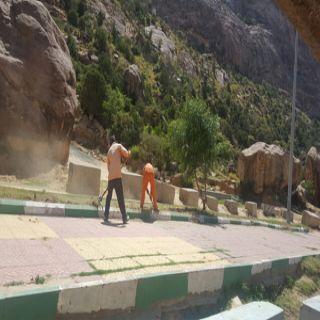 بلدية #تنومة تجهيزات وفرق ميدانية استعداداً لاستقبال المصطافين