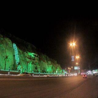 بلدية #بارق تزين الشوارع وتهيئ مصليات الأعياد
