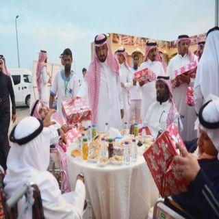 برعاية أمير الباحة وبحضور وكيل الإمارة جمعية البر تُنظم وجبة إفطار بغابة رغدان