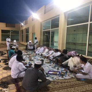 دار الرعاية الاجتماعية بوادي الدواسر تقيم افطار جماعياً لمنسوبيها
