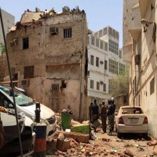 مطلوب يُفجر نفسه وسقوط آخرين في قبضة رجال الأمن في مُداهمة مكة