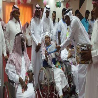 تأهيل #الباحة يحتفل بعيد الفطر