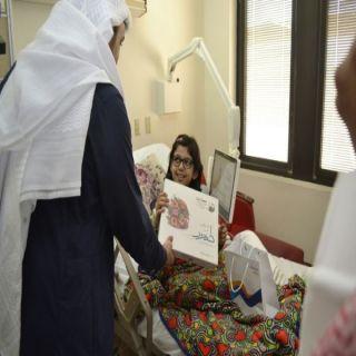 """""""زمزم"""" تعايد 130 مريضاً بمستشفيات #جدة"""