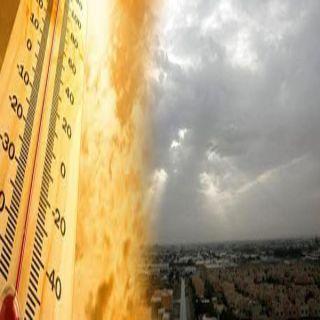 طقس الغد سماء غائمة على مرتفعات عسير والباحة وشديد الحرارة على شرق المملكة
