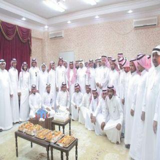 بحضور البارقي بلدية محافظة #بارق تقيم حفل معايدة لمنسوبيها