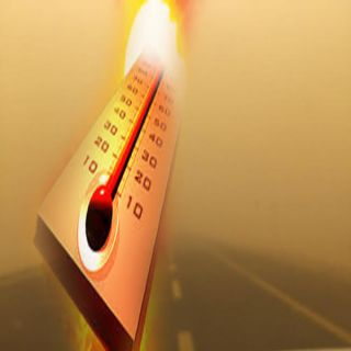 الارصاد الخميس شديد الحرارة وغبار تحدمن الرؤية على شرق وجنوب المملكة