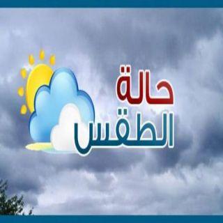 اجواء حارة وعوالق ترابية ورياح سطحية على بعض مناطق المملكة