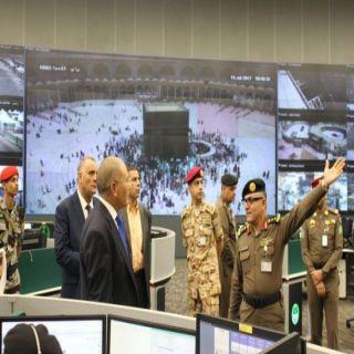 وفد أمني تونسي يزور مركز عمليات (٩١١) بمكة المكرمة