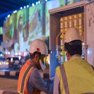 الكهرباء تشارك في سوق عكاظ ب20 فرقة هندسية وفنية