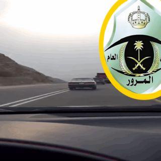ضبط قائد شاحنة ظهر في مقطع فيديو يسير بسرعة جنونية بطريق محايل أبها