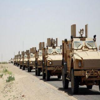 قوات الجيش الوطني تُحاصر (مُعسكرخالد) بمفرق المخا وتراجع للمليشيات في محافظة البقع