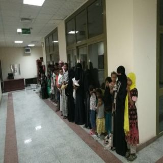 ضبط (7) رجال و(4) نساء و(18)حدثاً وظفوا لغرض التسول و جمع الاموال في الرياض