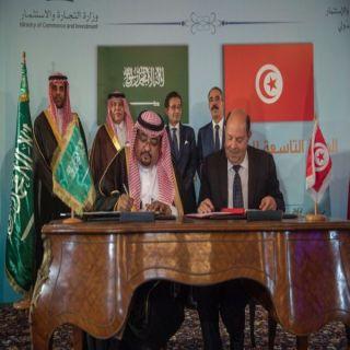 توقيع اتفاقية تعاون بين وزارة الثقافة والإعلام و وزارة الشؤون الثقافية بالجمهورية التونسية