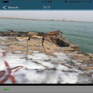 الميلشيات الحوثية  تستهدف ميناء المخاء بقارب مفخخ
