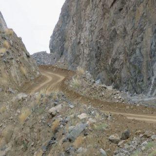 """بالصور """"وطنيات"""" ترصد تعثر مشروع طريق #المجاردة -ثلوث المنظر"""