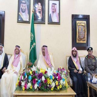أمير الباحة يستقبل مشائخ محافظة العقيق